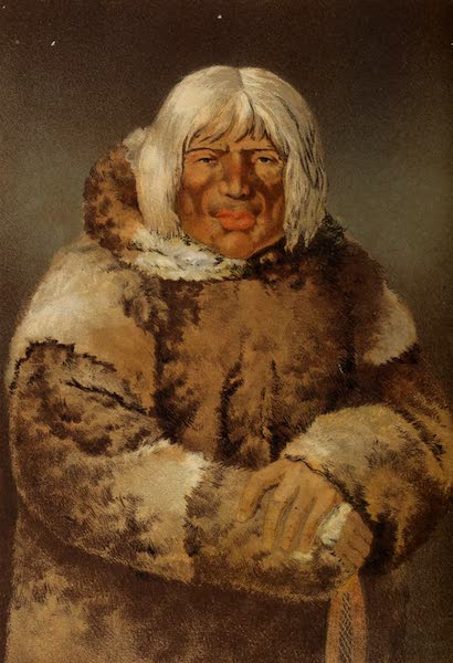 Wanderings of an Artist among the Indians of North America - Portrait of an Esquimaux (1859)