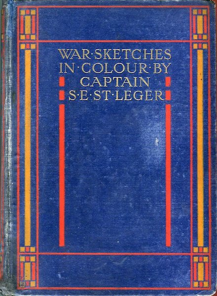 War Sketches in Colour - Front Cover (1903)