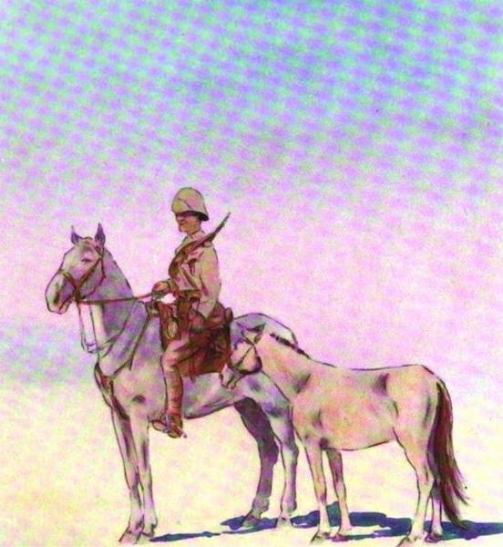 War Sketches in Colour - A Prisoner (1903)