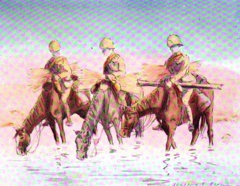 War Sketches in Colour - A Successful Day (1903)
