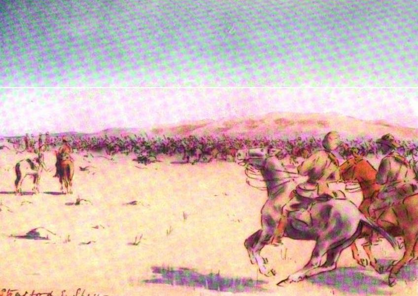War Sketches in Colour - The Rush for Kimberley (1903)