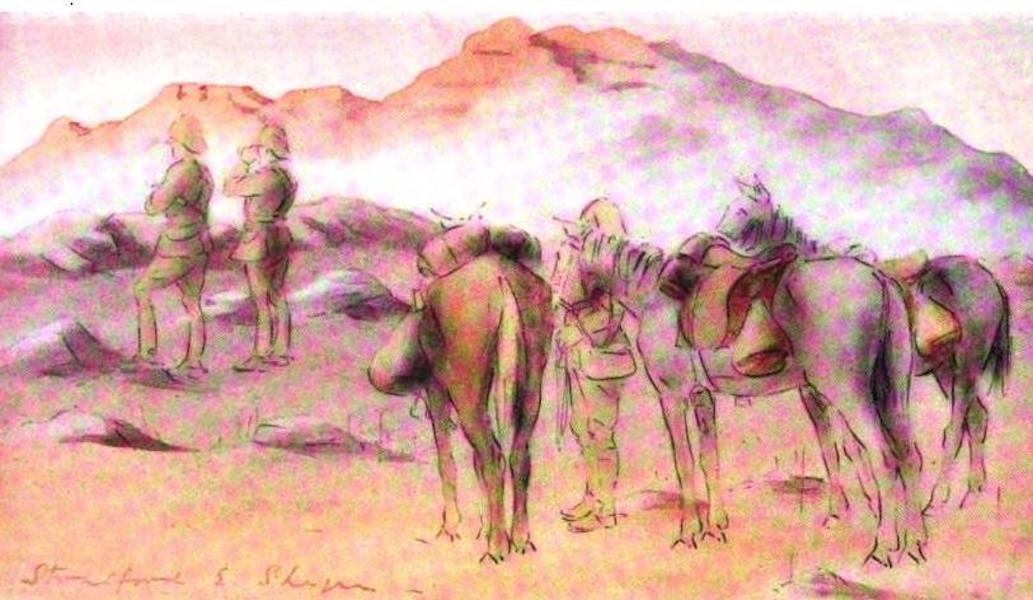 War Sketches in Colour - A Patrol on the Ladybrand Road (1903)