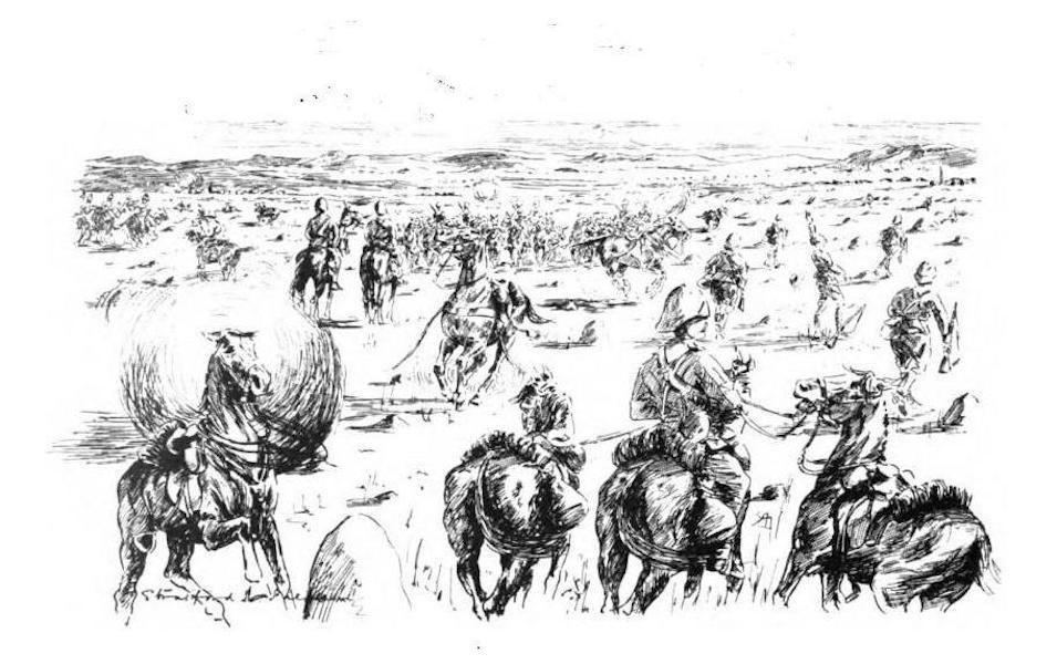 War Sketches in Colour - Sanna's Post (1903)