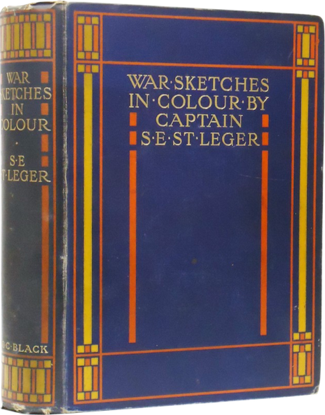 War Sketches in Colour - Book Display (1903)