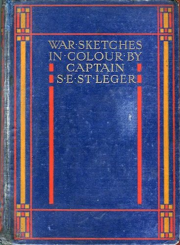 Chromolithography - War Sketches in Colour