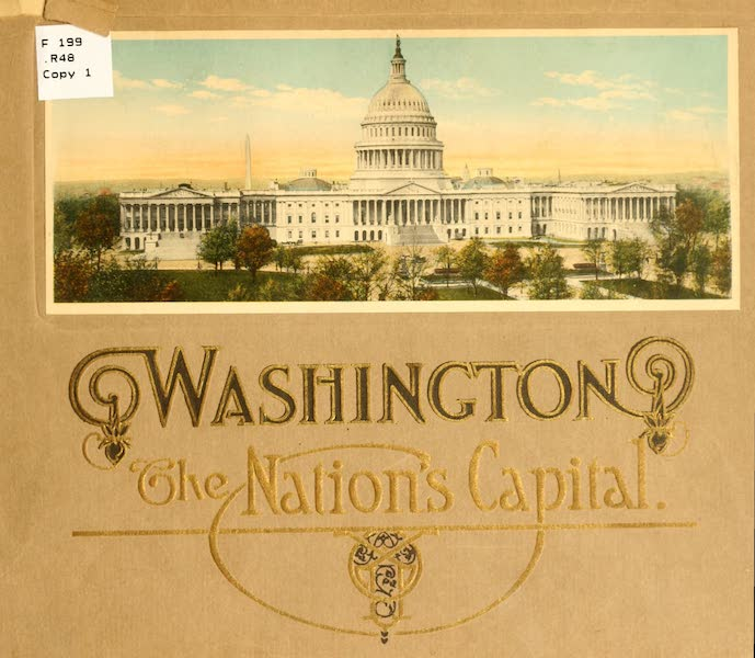 Washington, the City Beautiful - Front Cover (1918)