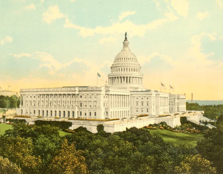 The Capitol, from the West
