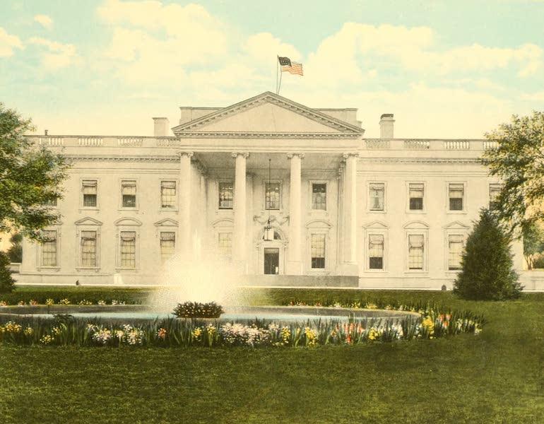 Washington, the City Beautiful - White House (1918)