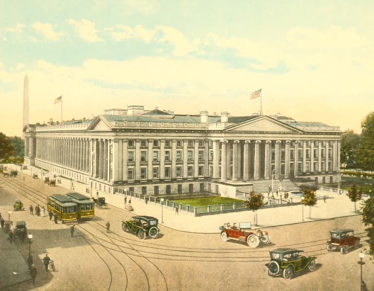 Washington, the City Beautiful - United States Treasury (1918)