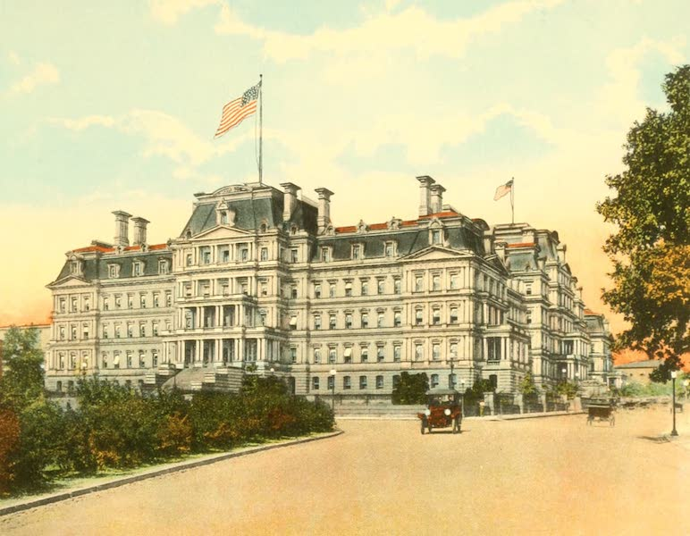 Washington, the City Beautiful - State, War, and Navy Building (1918)