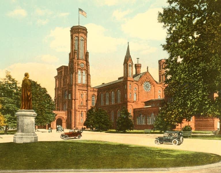 Washington, the City Beautiful - Smithsonian Institution (1918)