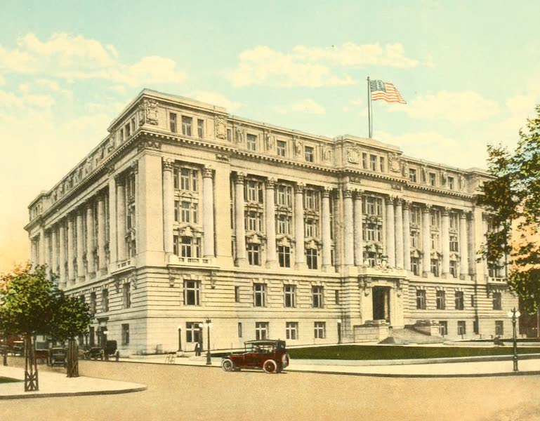 Washington, the City Beautiful - Municipal Building (1918)