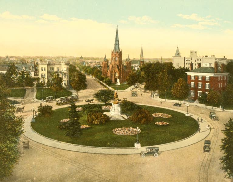 Washington, the City Beautiful - Thomas Circle (1918)
