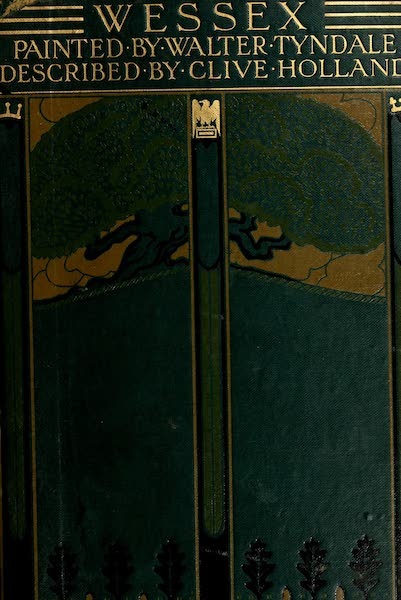Wessex Painted and Described - Front Cover (1906)