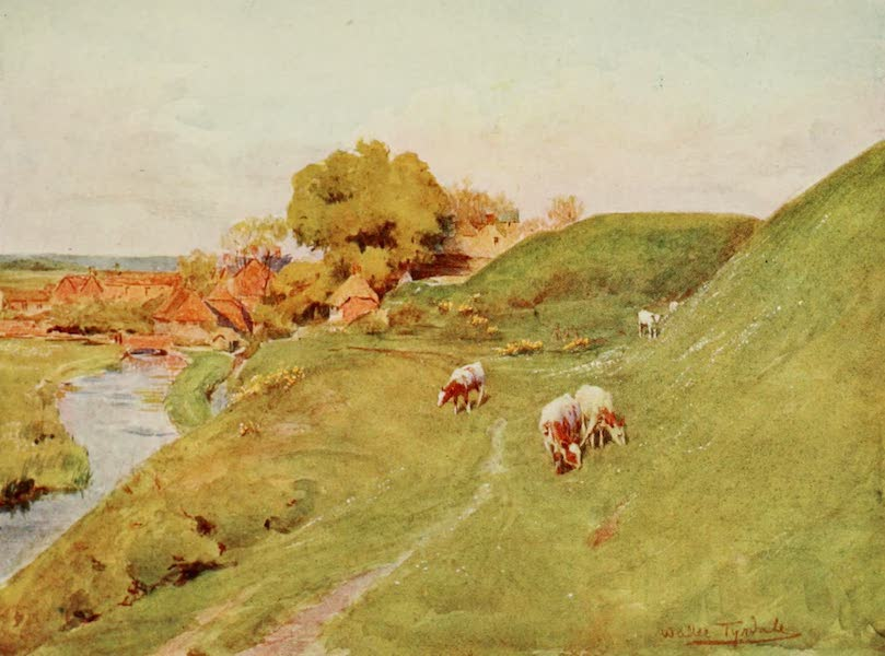 Wessex Painted and Described - On the Old Walls of Wareham (1906)