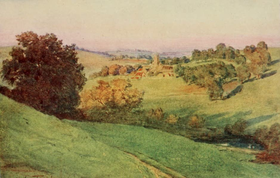 Wessex Painted and Described - Bathford, Somerset (1906)