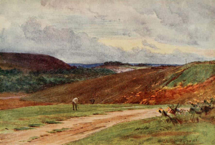Wessex Painted and Described - The Broadstone Golf Links, near Poole (1906)