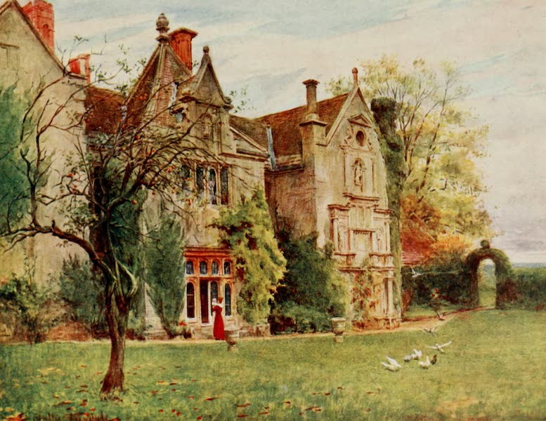 Wessex Painted and Described - Waterstone House, Dorset. The House of Bathsheba Everdene in Far from the Madding Crowd (1906)