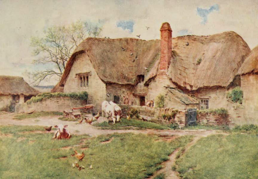 Wessex Painted and Described - A Wessex Dairy Farm (1906)