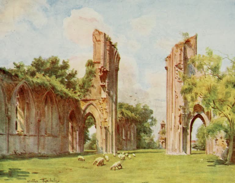 Wessex Painted and Described - Glastonbury Abbey (1906)