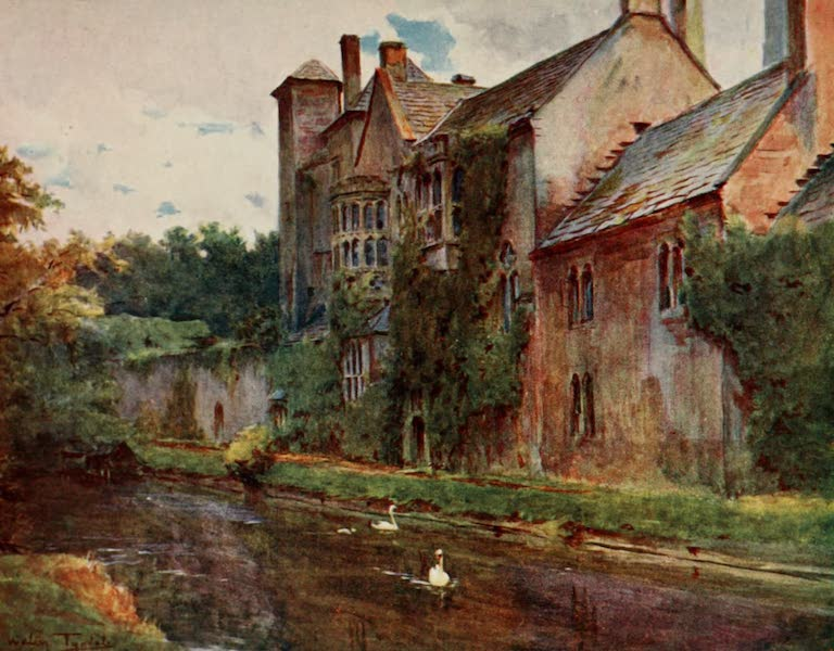 Wessex Painted and Described - The Palace, Wells (1906)