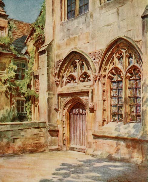 Wessex Painted and Described - The Vicars' Close, Wells. Life's Little Ironies,