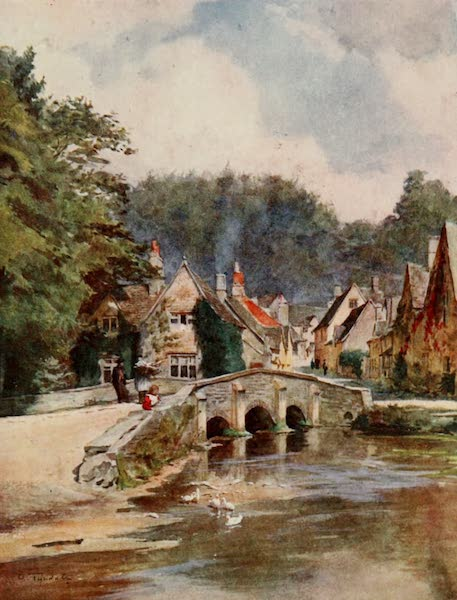Wessex Painted and Described - Castle Combe, North Wilts (1906)