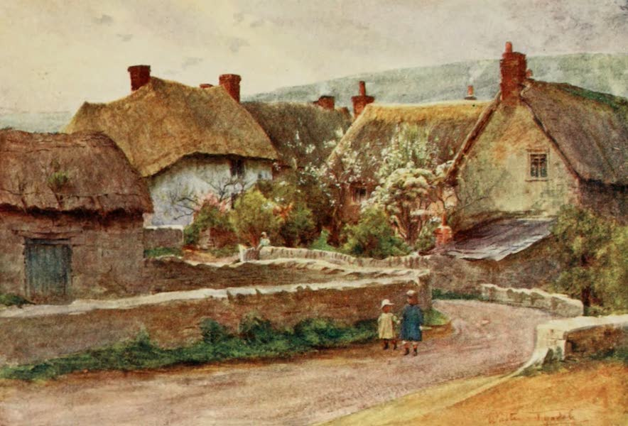 Wessex Painted and Described - A Wessex Village (1906)