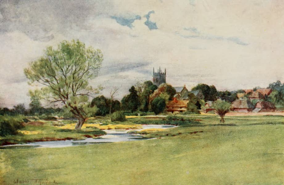 Wessex Painted and Described - Bere Regis. The