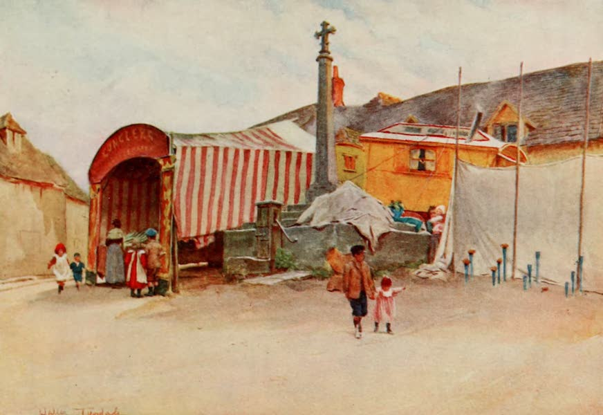 Wessex Painted and Described - A Corner of a Wessex Fair (1906)