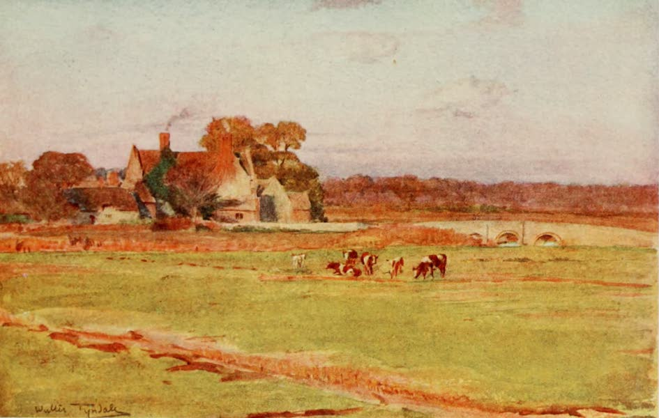 Wessex Painted and Described - Wool Manor House. The