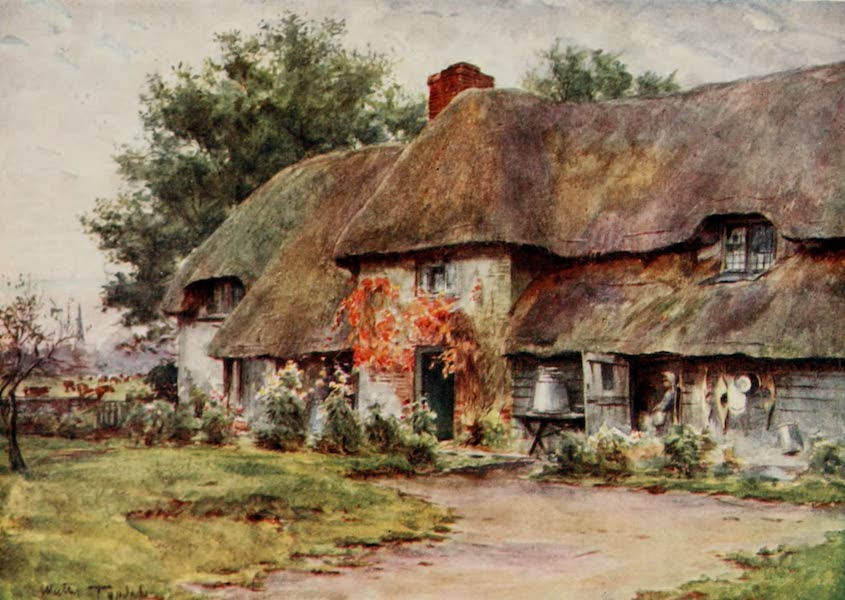 Wessex Painted and Described - Coker's, Frome : a Typical Dorset Dairy House (1906)
