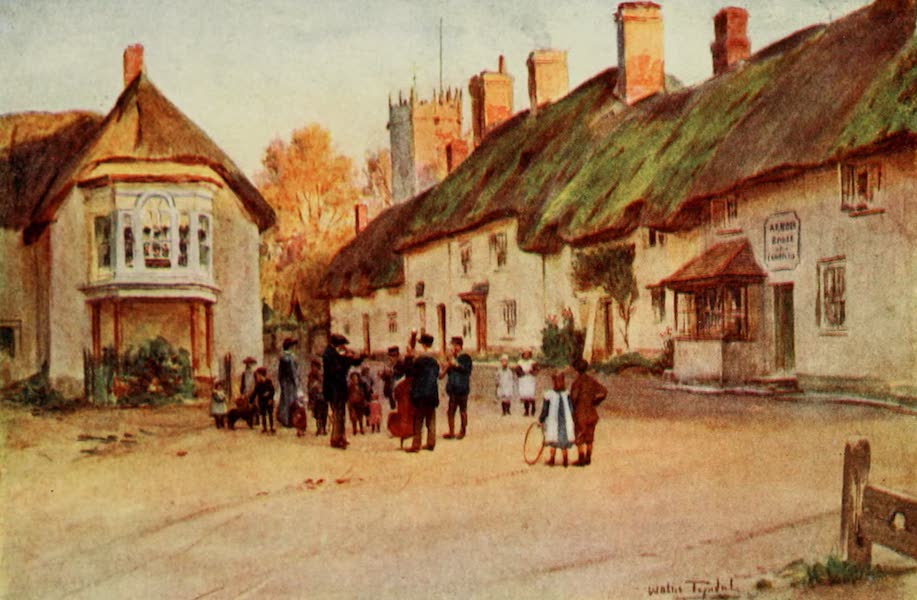 Wessex Painted and Described - Puddletown. The