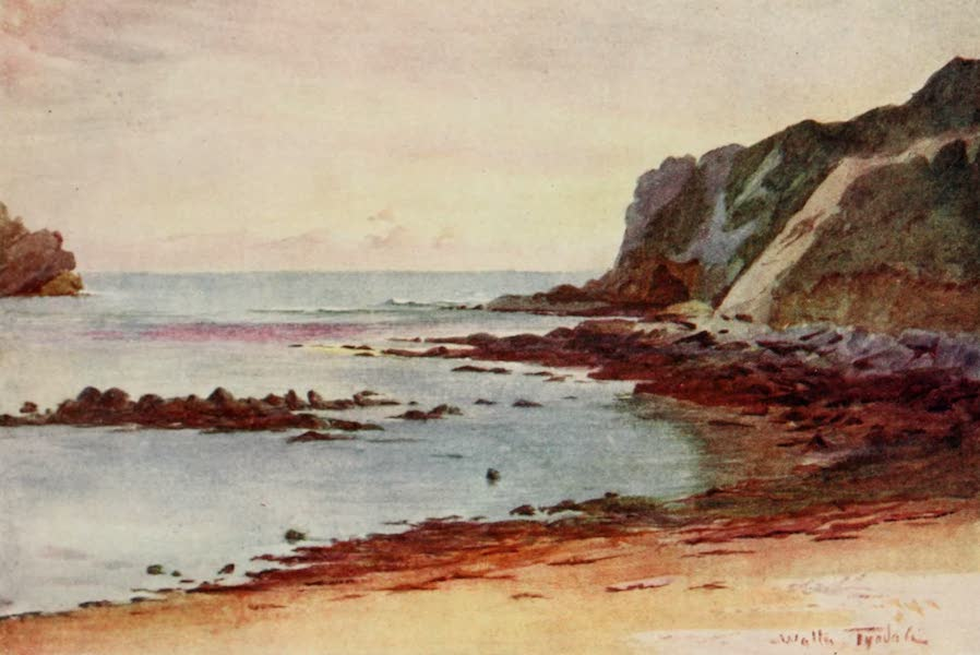 Wessex Painted and Described - Lulworth Cove. The