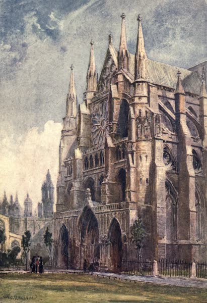 Westminster Abbey Painted and Described - The North Transept (1904)