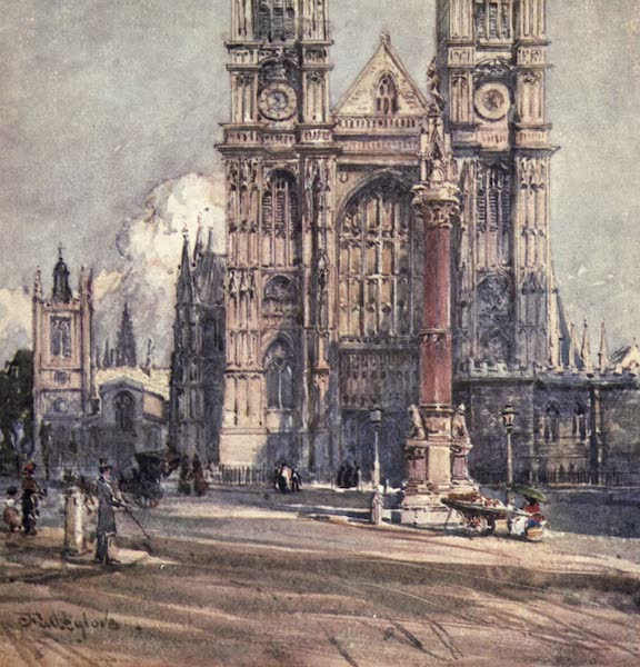 Westminster Abbey Painted and Described - The West Front (1904)