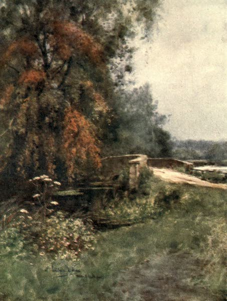 Winchester Painted and Described - At Itchen Abbas (1910)