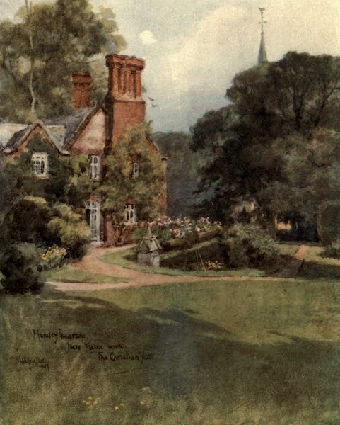 Winchester Painted and Described - Hursley Vicarage (1910)