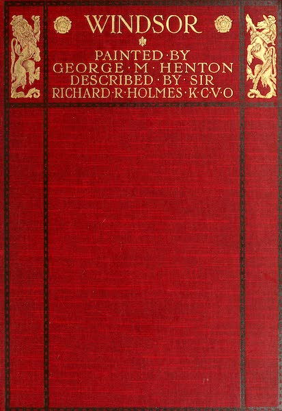 Windsor Painted and Described - Front Cover (1908)