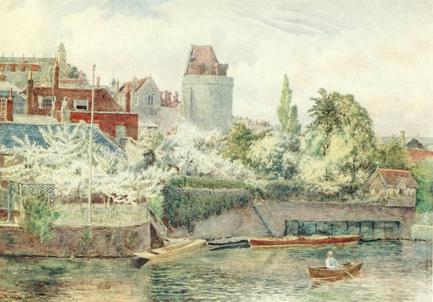 Windsor Painted and Described - Riverside Gardens (1908)