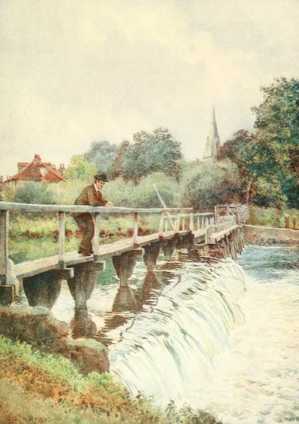 Windsor Painted and Described - The Old Weir (1908)