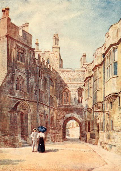 Windsor Painted and Described - The Norman Gate (1908)