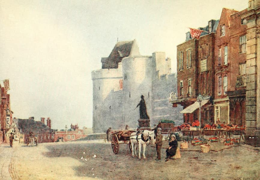 Windsor Painted and Described - Windsor Market : Early Morning (1908)