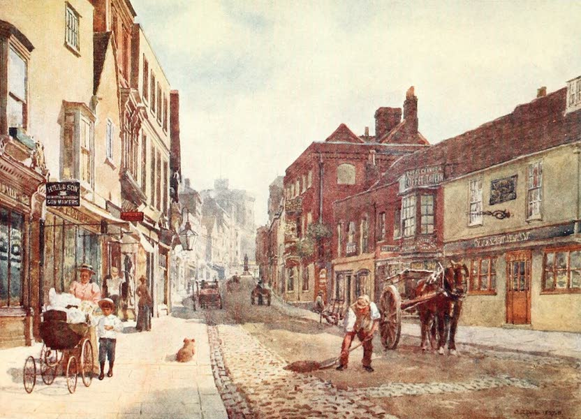 Windsor Painted and Described - Peascod Street (1908)