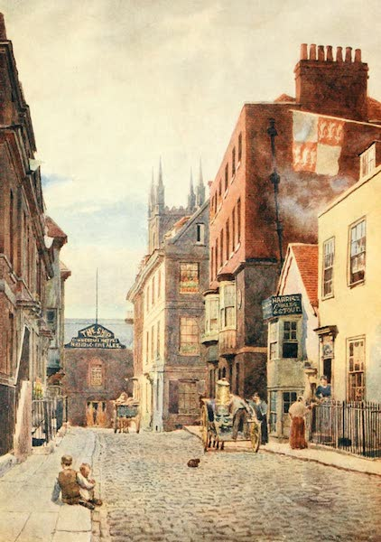 Windsor Painted and Described - Church Street, looking South (1908)