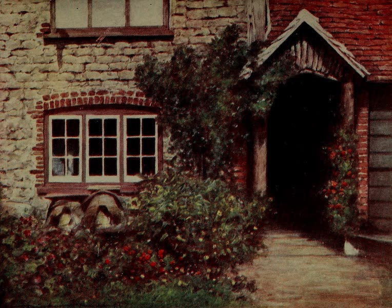 World Pictures : Being a Record in Colour - A Surrey Porch (1902)