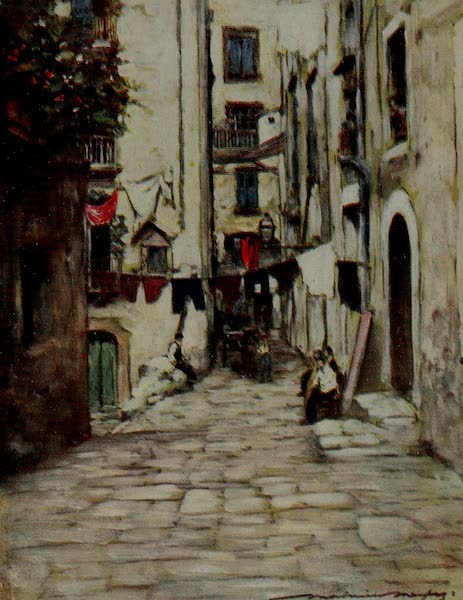 World Pictures : Being a Record in Colour - A Street in Naples (1902)