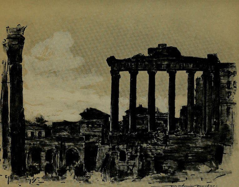 World Pictures : Being a Record in Colour - Remains of Ancient Rome (1902)