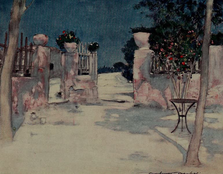 World Pictures : Being a Record in Colour - A Garden, Athens (1902)