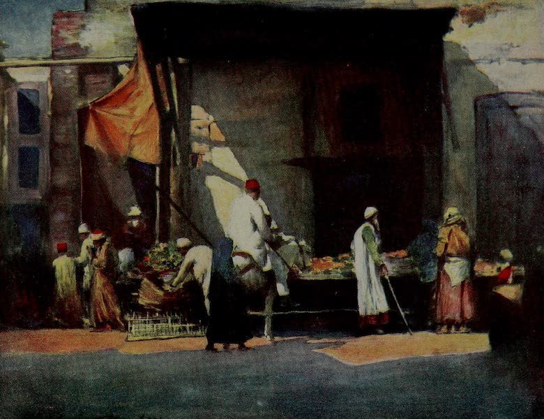 World Pictures : Being a Record in Colour - Fruit Stall (1902)